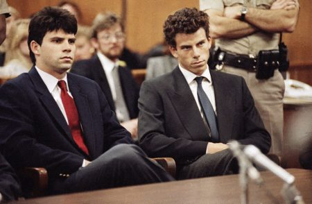The Menendez brothers in court