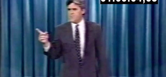 Jay Leno thought The Menendez Murders were just a big joke (video)
