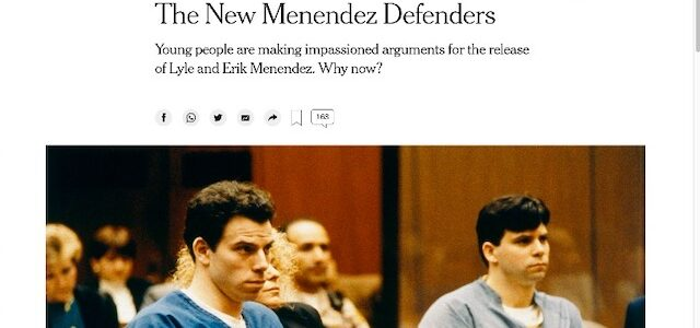 The New Menendez Defenders: The international movement of supporters who want Lyle and Erik set free
