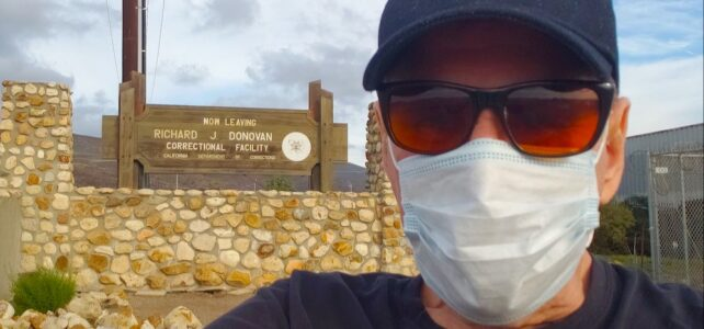 I couldn't visit Lyle Menendez because of the pandemic – until now!